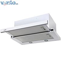 Ventolux Garda 60 WH (1000) EU встраиваемая, телескопическая кухонная вытяжка, белая эмаль