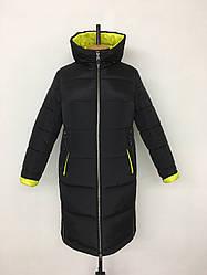 Стильная женская куртка еврозима размер 48-58