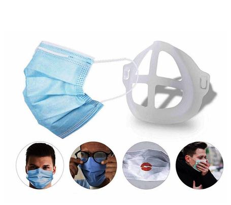 Держатель для одноразовой маски для лица, силиконовая многоразовая вставка для одноразовой маски, фото 2