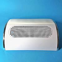 Вытяжка для маникюра Simei 858-5 40W на три вентилятора (пылесос маникюрный)