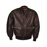 A-2 LEATHER JACKET кожаная летная мужская куртка Альфа Индастриз
