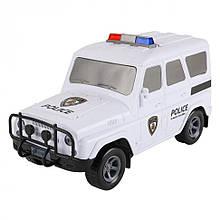 """Детский Сейф-копилка """"Машинка""""   JH1989 с кодовым замком (Полиция (Белый))"""