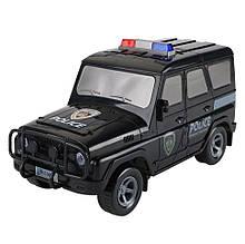 """Детский Сейф-копилка """"Машинка""""   JH1989 с кодовым замком (Полция (Черный) )"""