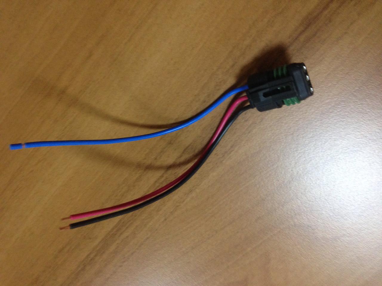 Фішка (роз'єм) №302S электрокорректора фар Ланос / Lanos