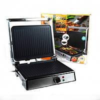 Гриль электрический DSP KB1048 1800W с антипригарным покрытием, электрический гриль пресс