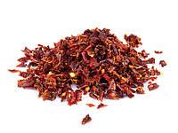 Паприка сладкая красная 3х3, 6х6, 9х9 мм (Китай), 16 кг