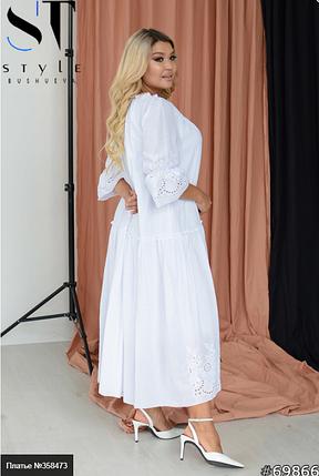 Нежное платье для особого случая Размеры: 48-54. 56-62, фото 2