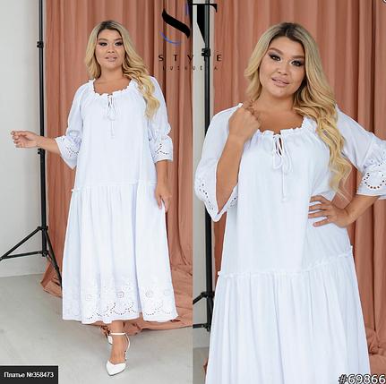 Ніжне плаття для особливого випадку Розміри: 48-54. 56-62, фото 2