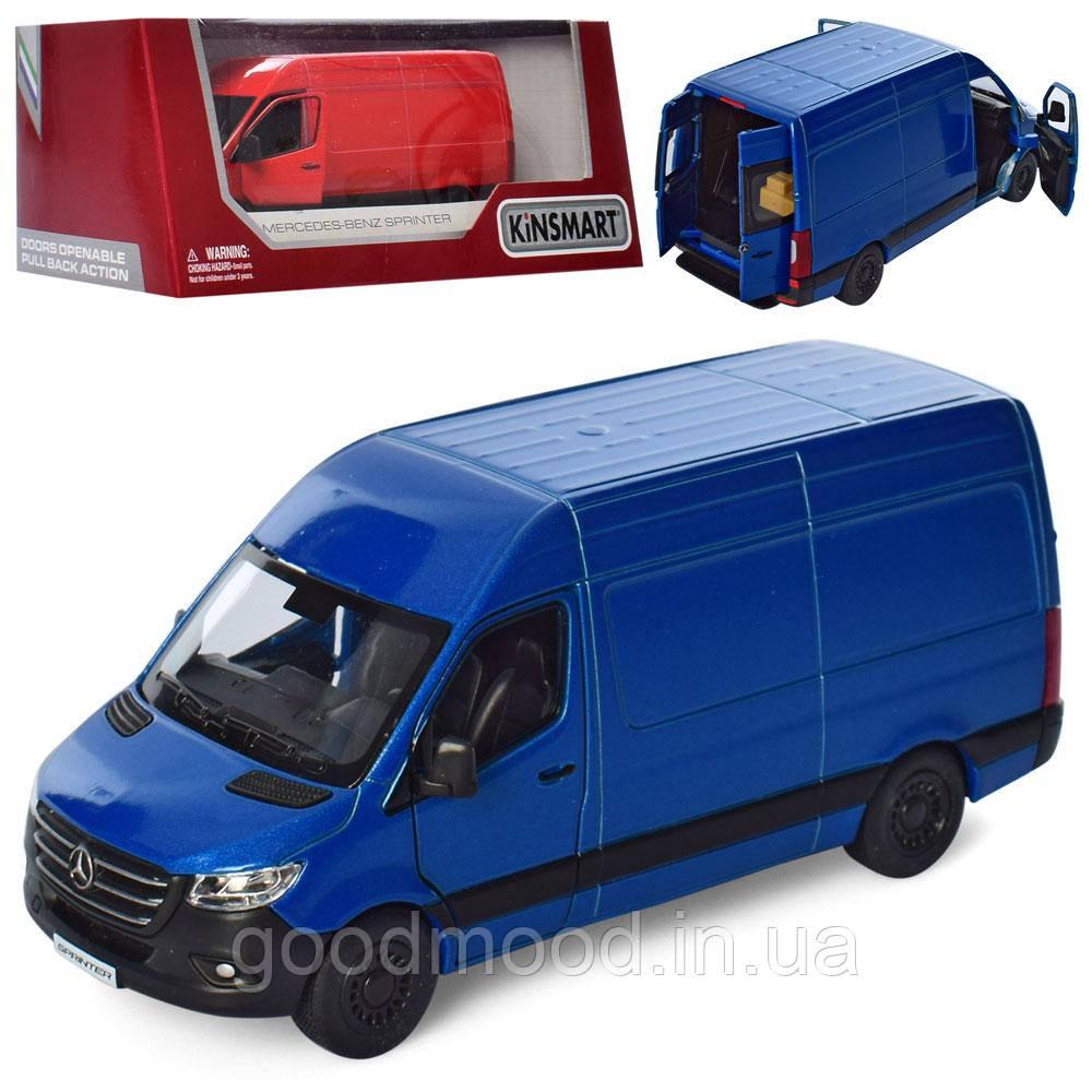 Машинка KT5426W мет., інерц., відчин.двері, гум.колеса, 2 кольори, кор., 16-7,5-8см.
