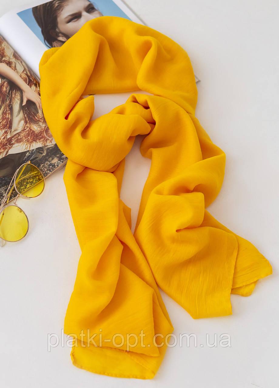 Палантин Zara (желтый)