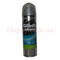 Гель для бритья Gillette Mach 3 Close & Fresh 200мл