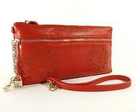 Кошелек-клатч кожаный LOUIS VUITTON 1870 красный, расцветки в наличии