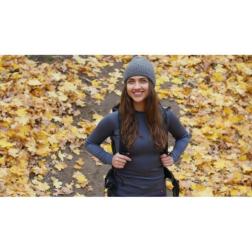 Термофутболка женская Turbat Versa Top Wmn XS Graphite, фото 2