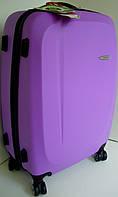 Чемодан дорожный испанский Gabol: на колесах, пластиковый - средняя сирень