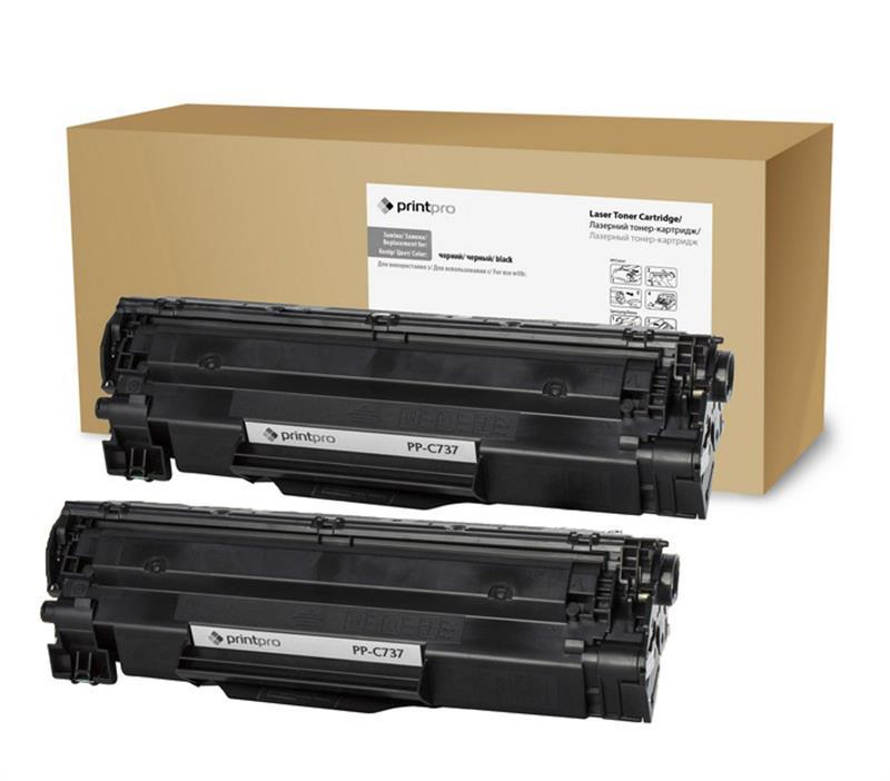 Картридж  PrintPro Canon LBP-2900/3000 (аналог Canon 703/Q2612A) Dual Pack