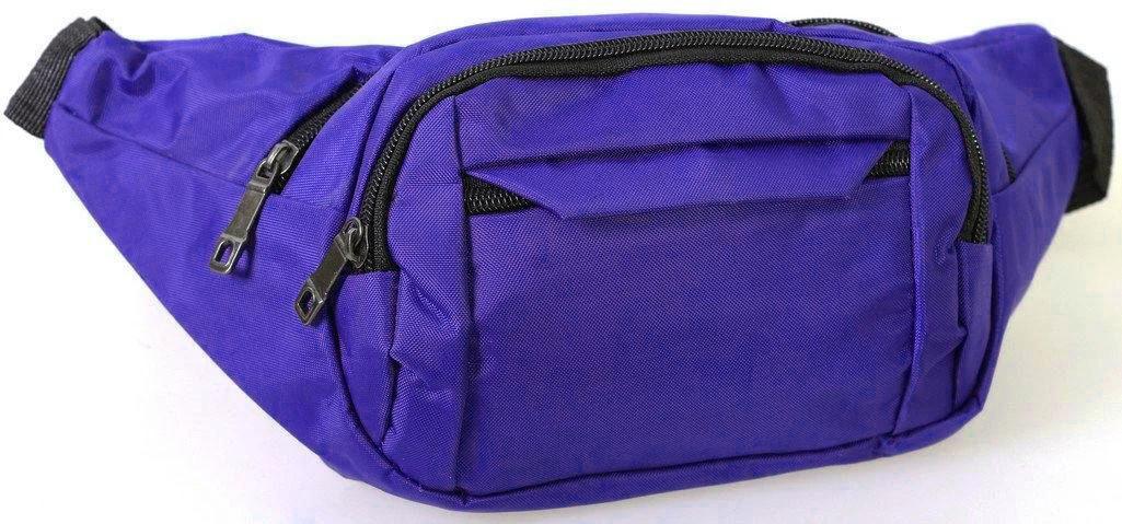Бананка унісекс сумка на пояс і через плече синя (15003-6)
