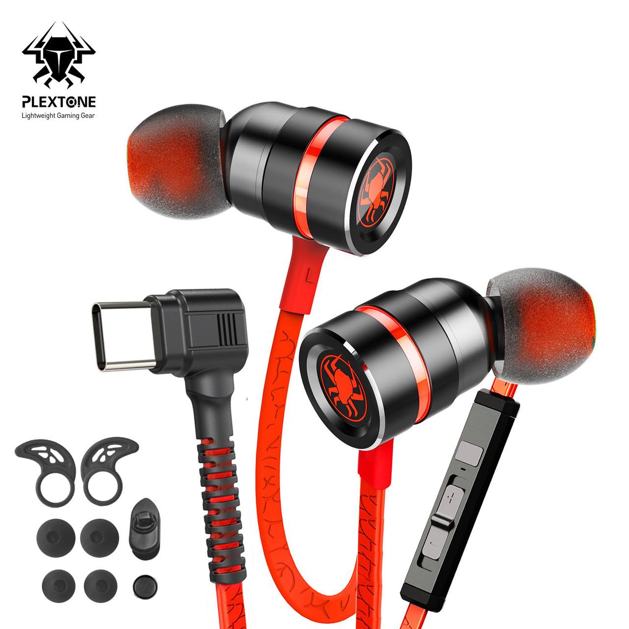 Провідні ігрові навушники Type-C (1.2 м) геймерська стерео гарнітура з мікрофоном для телефону смартфона