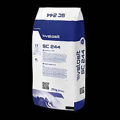 VELOSIT SC244 Наливна стяжка швидкого тужавлення (вкладання керамічної плитки - 4 год.) 51 МПа. 25 кг.
