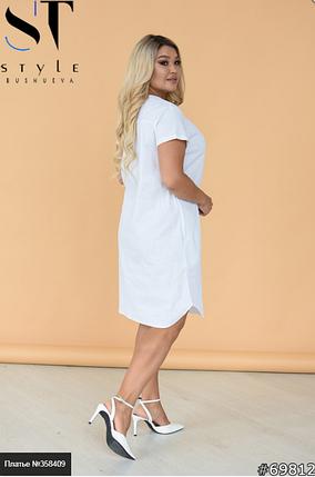 Лляне плаття Розміри: 46-48, 50-52, 54-56, фото 2