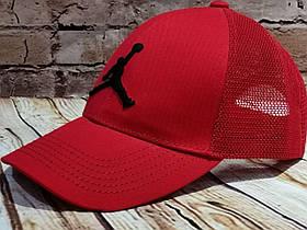 Чоловіча жіноча кепка бейсболка джордан з сіткою