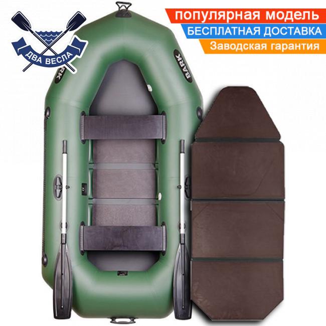 Надувная лодка Bark B-250K со слань-книжкой двухместная
