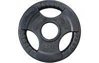 Блины, диск для грифа олимпийского по 2.5 кг обрезиненные