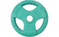 Блины, диск для олимпийской штанги Sportop 10 кг