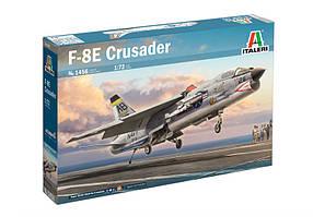 F-8E Crusader. Збірна модель військового літака в масштабі 1/72. ITALERI 1456
