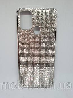 Силіконовий чохол накладка Камені Стрази для Samsung Galaxy M31