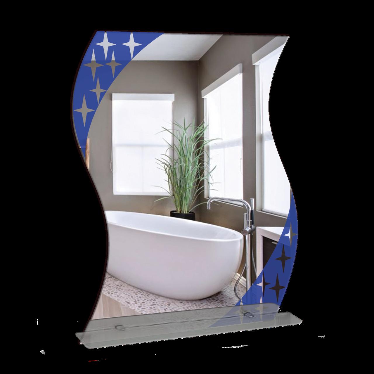 Зеркало для ванной комнаты 480х650 Ф344