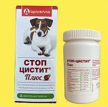 Стоп Цистит Плюс жевательные таблетки для собак, банка 40 таб.