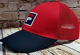 Чоловіча жіноча бейсболка кепка філа з сіткою
