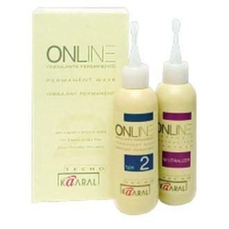 Kaaral Online Permanent Wave Перманент для поврежденных волос 100+100 мл.