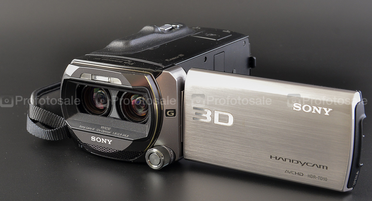 3D видеокамера Sony HDR-TD10
