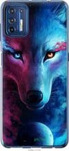 "Чехол на Motorola G9 Plus Арт-волк ""3999u-2104-2448"""