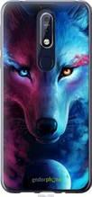 "Чехол на Nokia 7.1 Арт-волк ""3999u-1593-2448"""