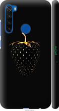 "Чохол на Xiaomi Redmi Note 8T Чорна полуниця ""3585c-1818-2448"""
