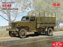 G7107. Збірна пластикова модель армійського вантажного автомобіля II МВ. 1/35 ICM 35593