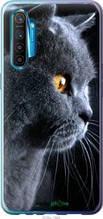 """Чехол на Realme XT Красивый кот """"3038u-1868-2448"""""""