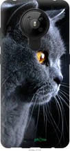 "Чохол Nokia 5.3 Красивий кіт ""3038u-2102-2448"""