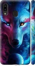 """Чехол на Samsung Galaxy A20e A202F Арт-волк """"3999c-1709-2448"""""""
