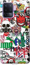 "Чохол на Oppo A94 Many different logos ""4022u-2287-2448"""