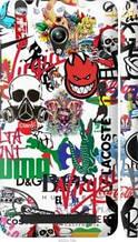 "Чехол на Asus Zenfone Go ZC500TG Many different logos ""4022c-160-2448"""