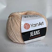 YarnArt Jeans (ярнарт джинс) 73 Кремовый персик