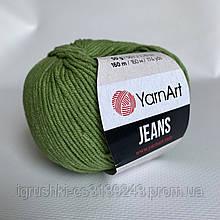 YarnArt Jeans (ярнарт джинс) 69 Трава