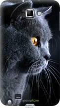 "Чехол на Samsung Galaxy Note i9220 Красивый кот ""3038u-316-2448"""