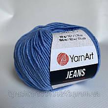 YarnArt Jeans (ярнарт джинс) 15 Василек