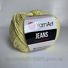 YarnArt Jeans (ярнарт джинс) 67 Лимон