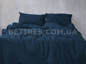 Набор (пододеяльник + наволочка) 160x220 LIMASSO DRESS BLUE STANDART синий