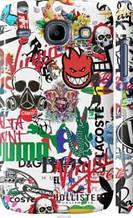 "Чехол на Samsung Galaxy Core i8262 Many different logos ""4022c-88-2448"""
